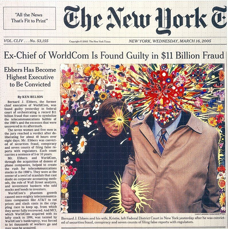 Fred Tomaselli - Selected Works - James Cohan Gallery