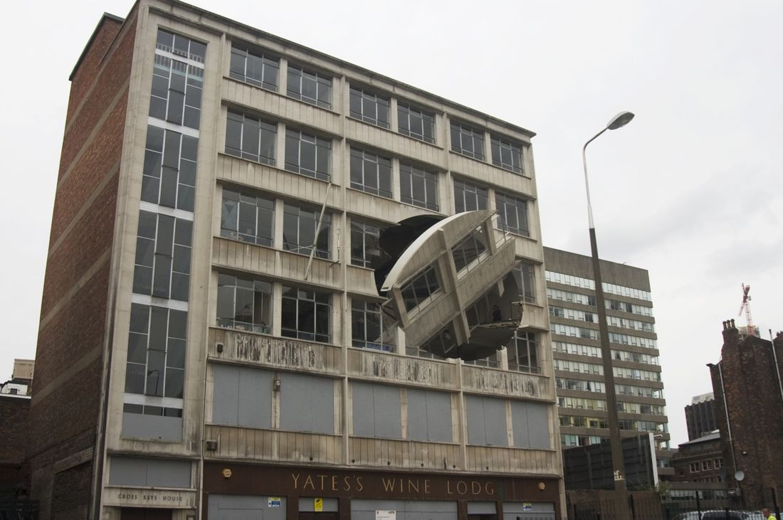 Flickr Photo Download: Turning the Place Over, Richard Wilson, 2007 - Liverpool Biennial