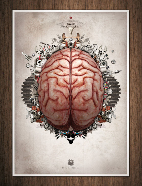 Organs - 'Heart', 'Brains', 'Guts'  Design You Trust. World's Most Provocative Social Inspiration.