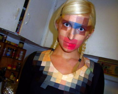 The 8-Bit Low-Res Make-Up Is High-Res Clever - Pixelface - Gizmodo