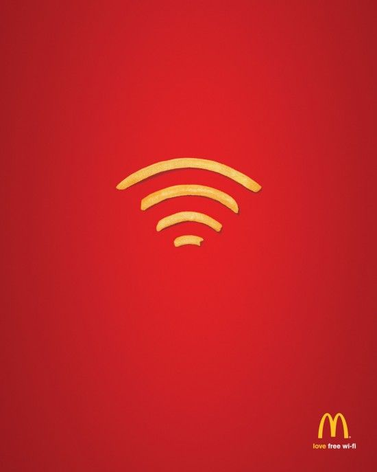 McDonald's : Wi-Fries | Fubiz™