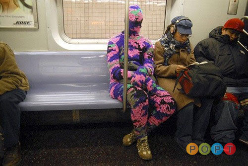 Pink Digital Camo | People Of Public Transit