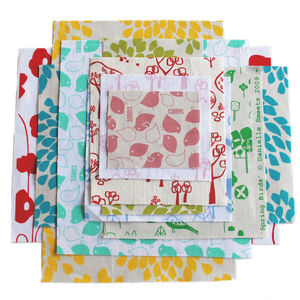 Flickr Photo Download: Screen-printed fabric scrap pack - 74