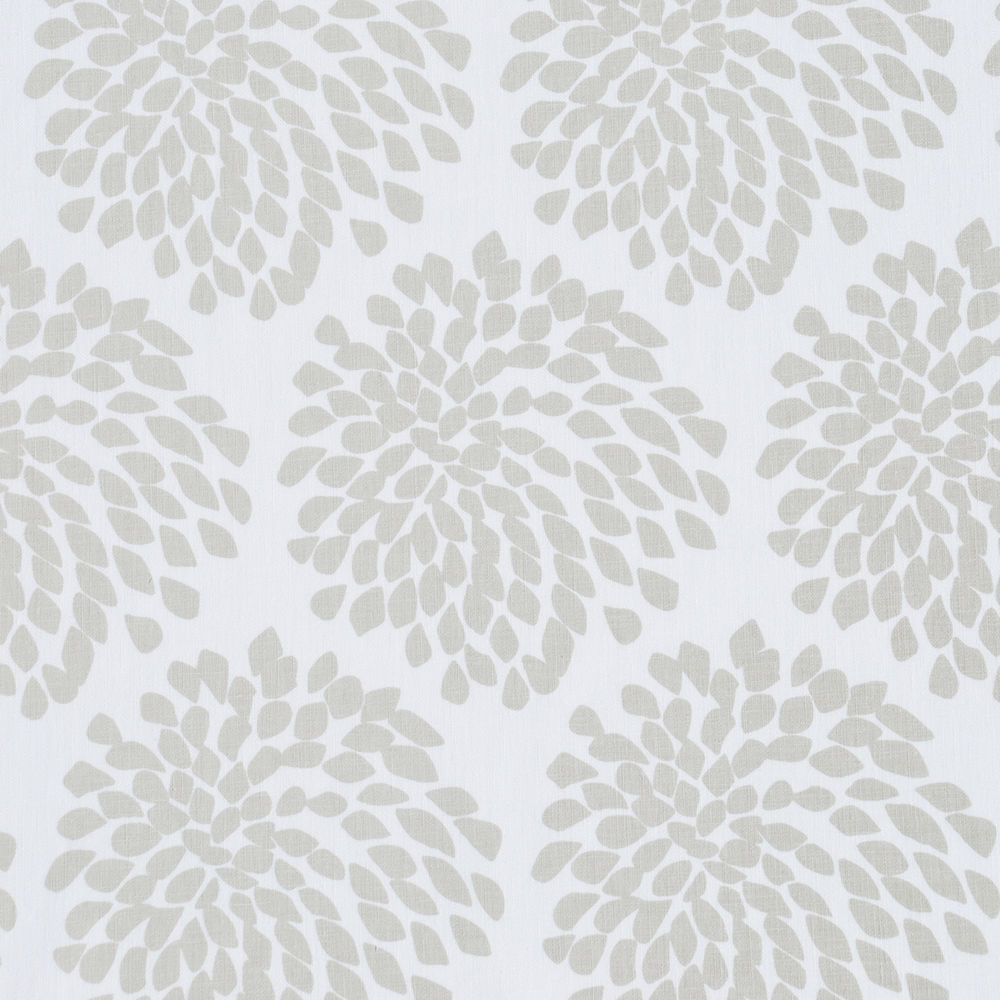 Flickr Photo Download: Protea fabric panel (warm grey on white)
