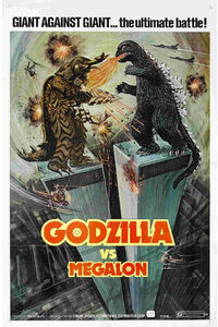 Flickr Photo Download: godzilla versus megalon USA poster