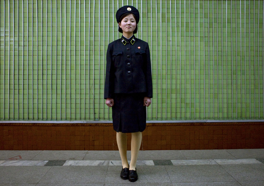 Flickr Photo Download: Subway girl's dream- Pyongyang North Korea