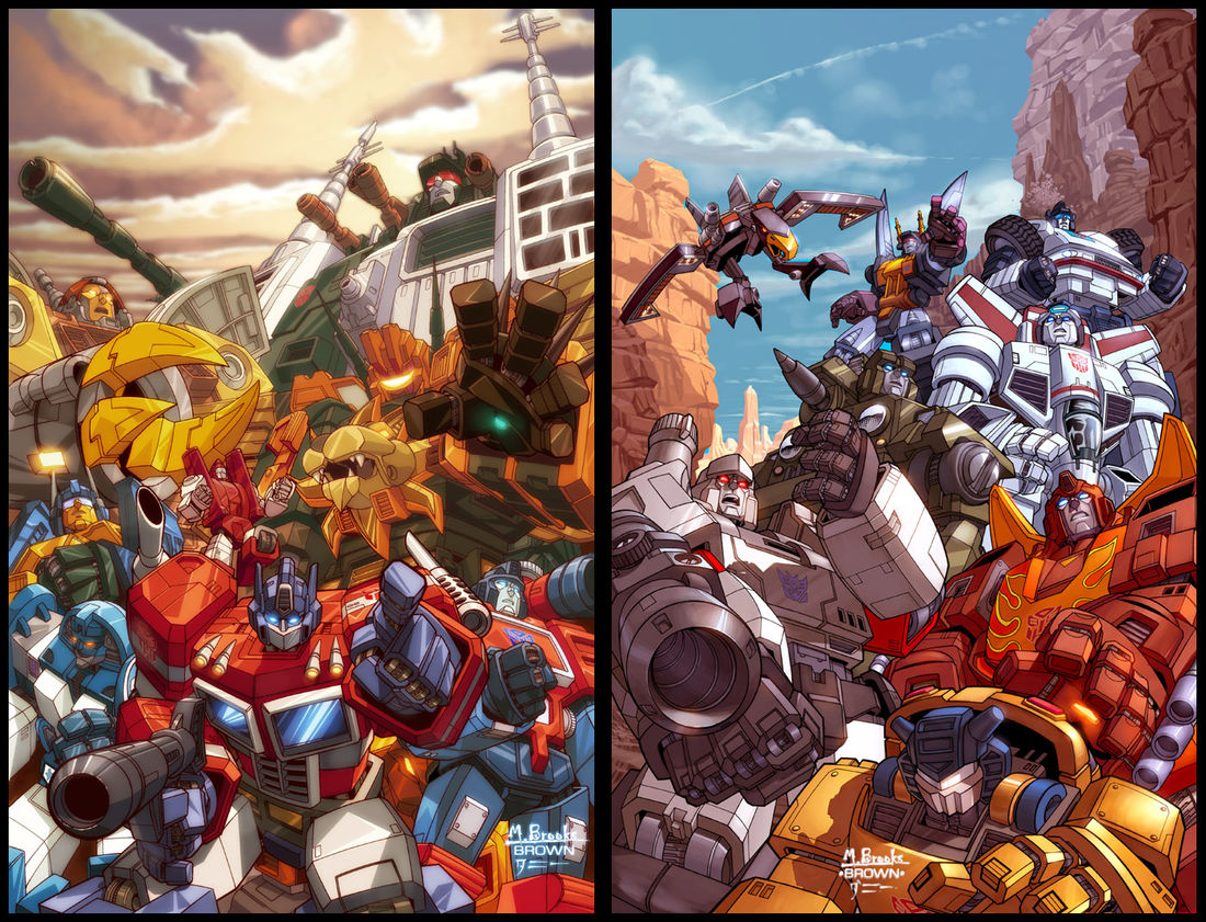 Transformers covers by `diablo2003 on deviantART