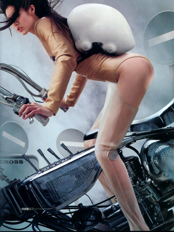 Motorcycles, Girls and Violence | Motorcycle Blog: The Sidecar