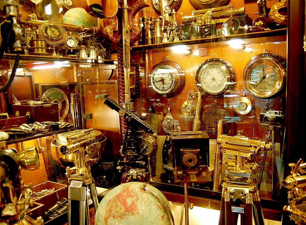 Flickr Photo Download: Inside the Nautical Instruments shop