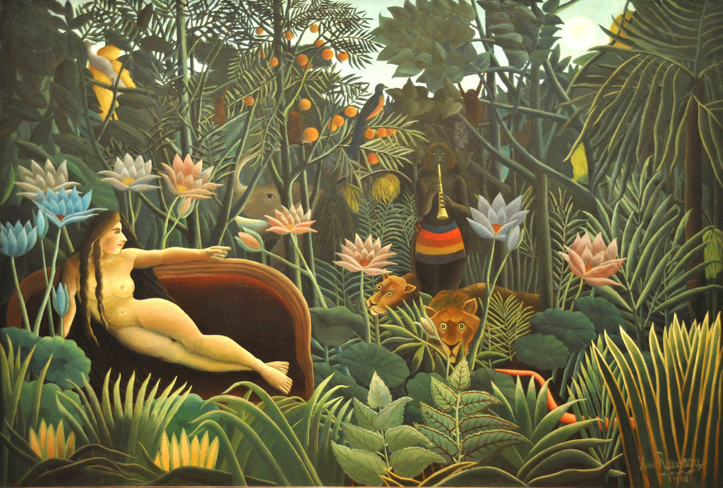 Flickr Photo Download: The Dream. Henri Rousseau (French, 1844-1910). 1910. MOMA, NYC