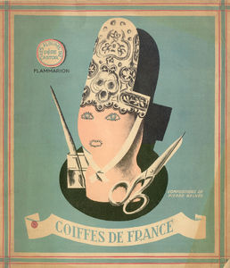 Flickr Photo Download: Découpage, Coiffes de france, 1947
