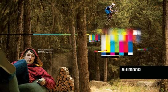 Shimano Campaign  Fubiz™
