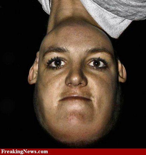 Celebrities Upside Down Pictures - Strange Celebrities Upside Down Pics