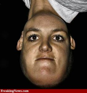 Celebrities Upside Down Pictures - Strange Celebrities Upside Down Pics