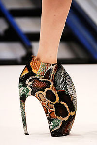 Alexander McQueen Spring 2010 Shoes  ShoeBlog