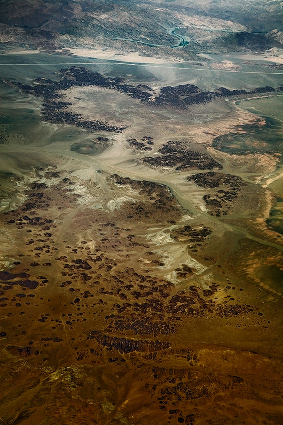 10.000m above Africa on the Behance Network