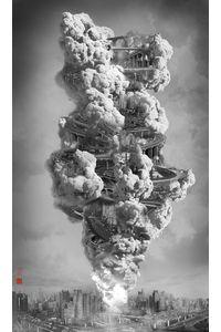 Yang Yongliang et les cit?s du ciel - PHOTO.fr