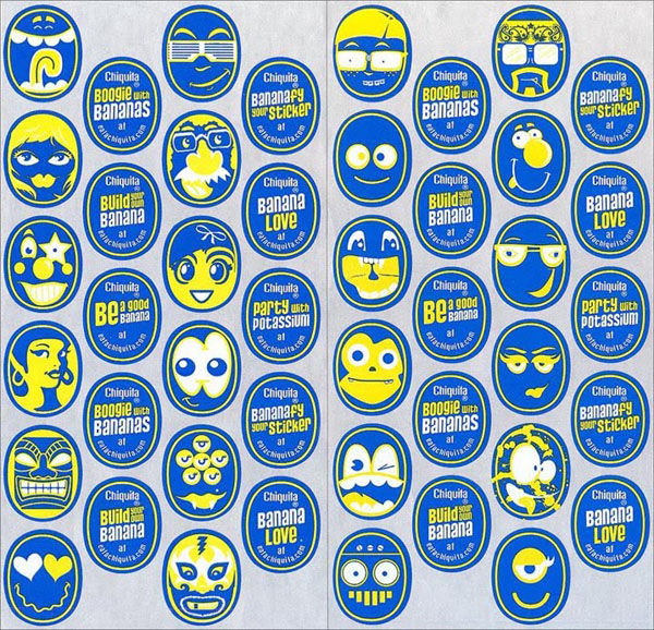 Chiquita Banana Brand Refresh - Design Articles and Features on design:related