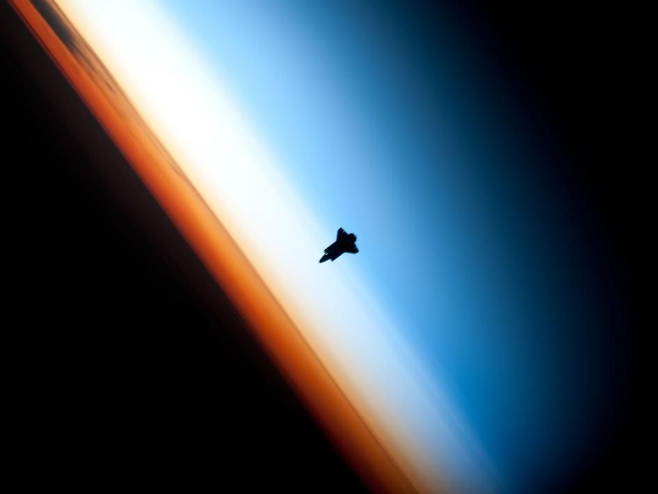 NASA - Shuttle Silhouette