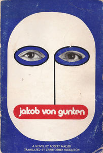 Flickr Photo Download: Jakob von Gunten, first US paperback