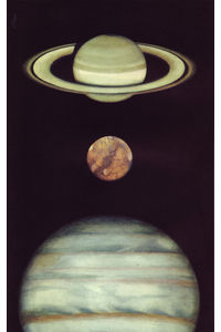 Flickr Photo Download: 10 Saturne, Mars, Jupiter, illus. by Peter Wyss (from Le Livre de Sante, v.1, 1967)