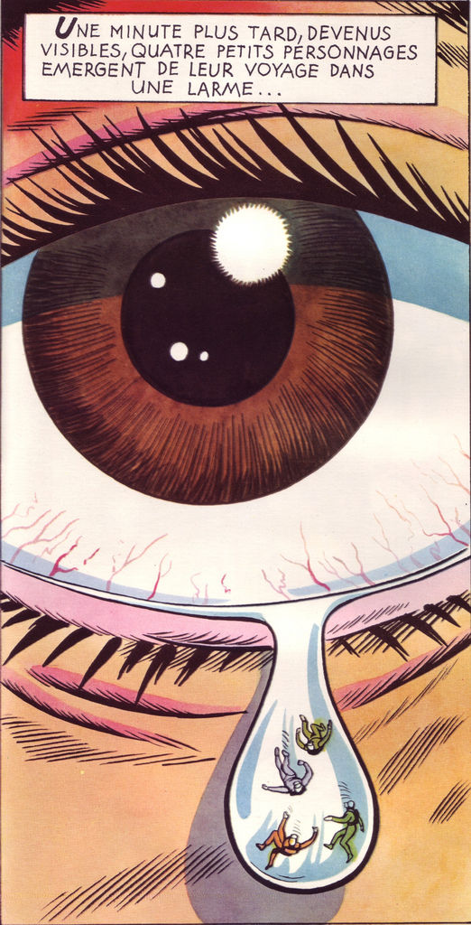 Flickr Photo Download: 05 Fantastic Voyage, illus. by Peter Wyss after the movie (from Le Livre de Sante, v.1, 1967)