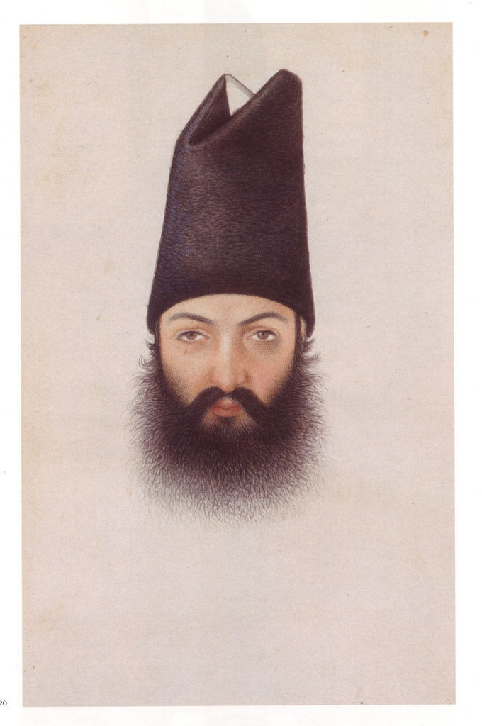 Flickr Photo Download: Abu'l Hasan, portrait of 'Imad al-Dawleh, c. 1860