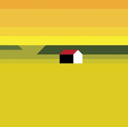 BlogLESS : Landschaft Mit Haus