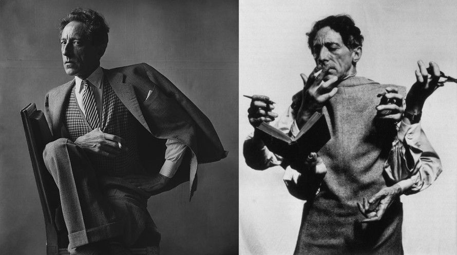 Flickr Photo Download: Jean Cocteau smoking