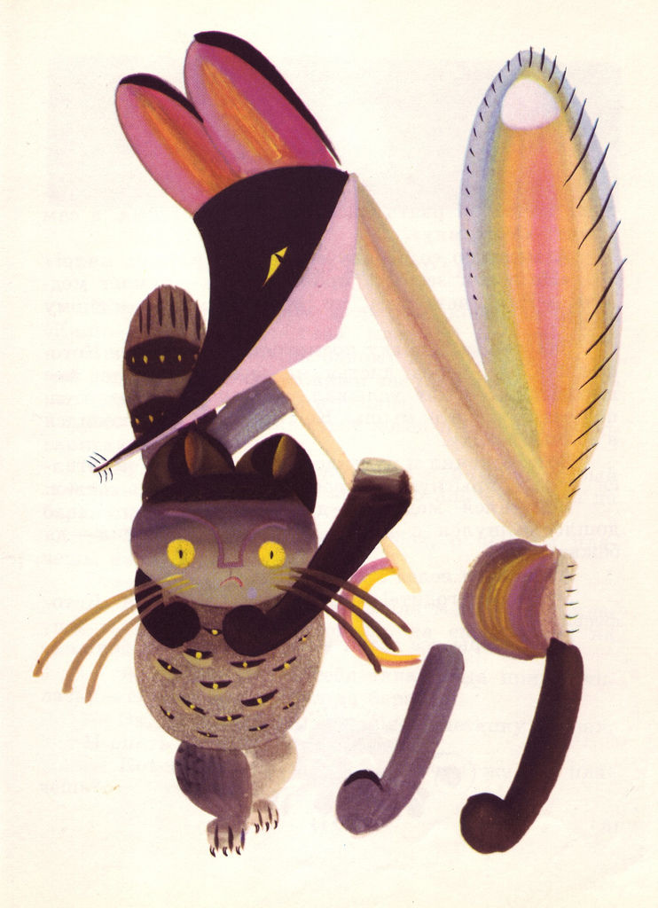 Flickr Photo Download: 01 Lev Tokmakov, Fairy Tales about Animals, 1973