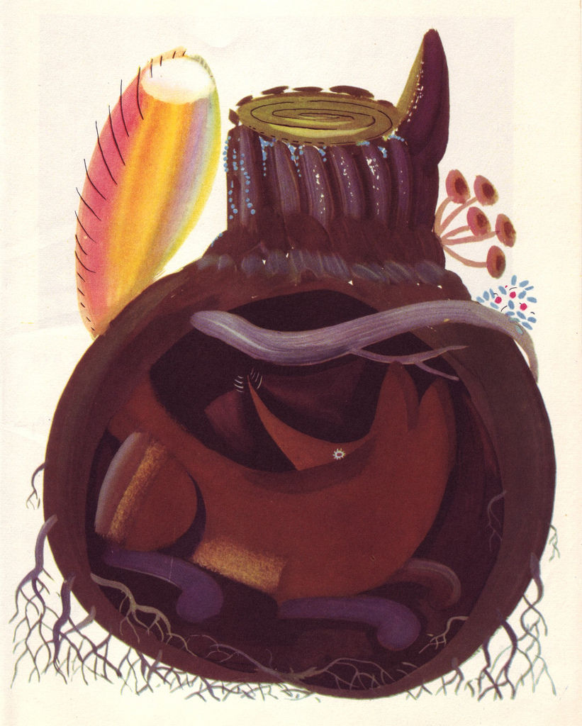 Flickr Photo Download: 10 Lev Tokmakov, Fairy Tales about Animals, 1973