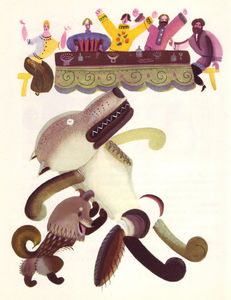 Flickr Photo Download: 06 Lev Tokmakov, Fairy Tales about Animals, 1973
