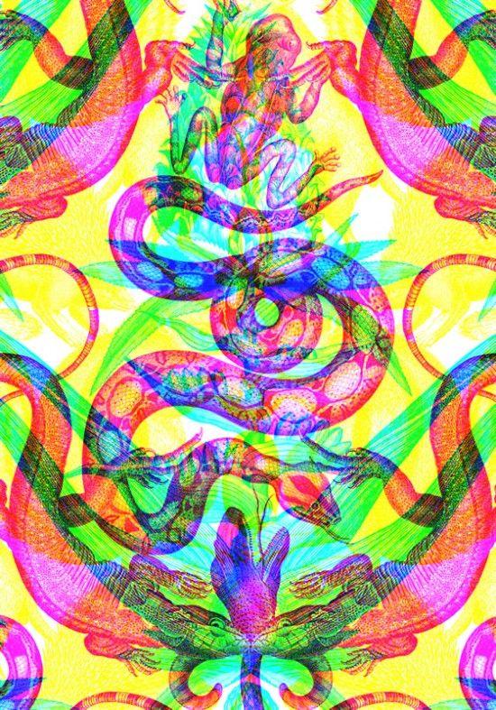 RGB Wallpaper  Fubiz™
