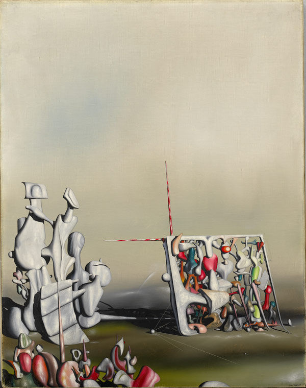 Flickr Photo Download: Yves Tanguy, There, Motion Has Not Yet Ceased, 1945