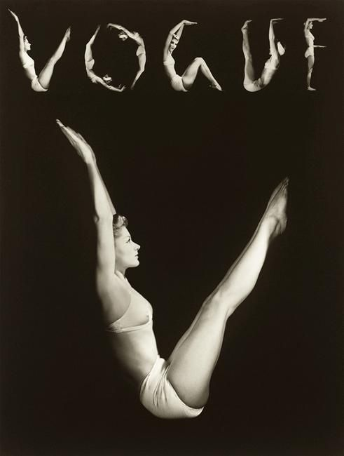 Horst P. Horst: Lisa as V.O.G.U.E. — 1940 Monoscope