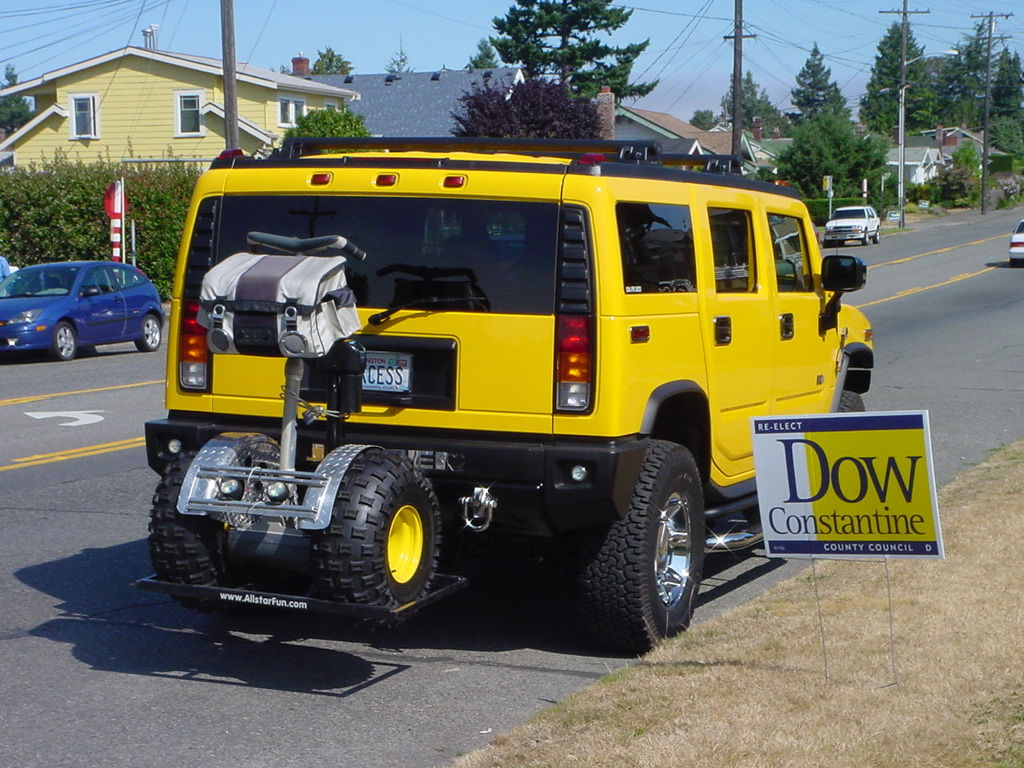 Flickr Photo Download: Hummer with Segway