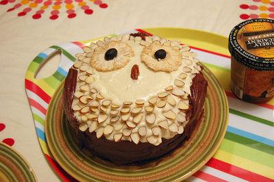 Owl Cake | Cute Cakes | CutestFood.com