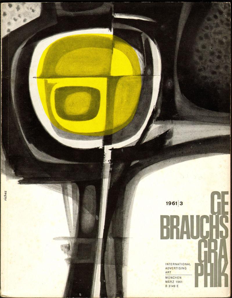 Flickr Photo Download: Gebrauchsgraphik Magazine March 1961
