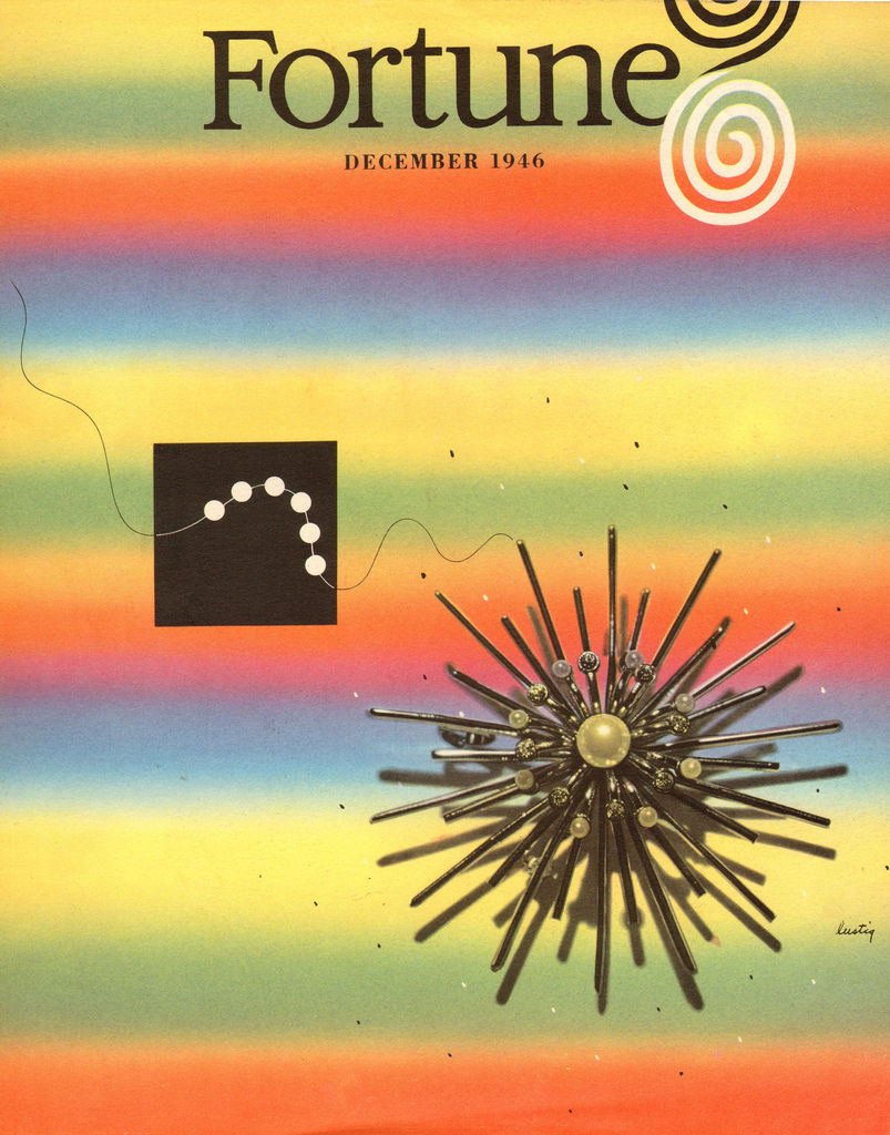 Flickr Photo Download: Alvin Lustig Fortune Magazine Cover