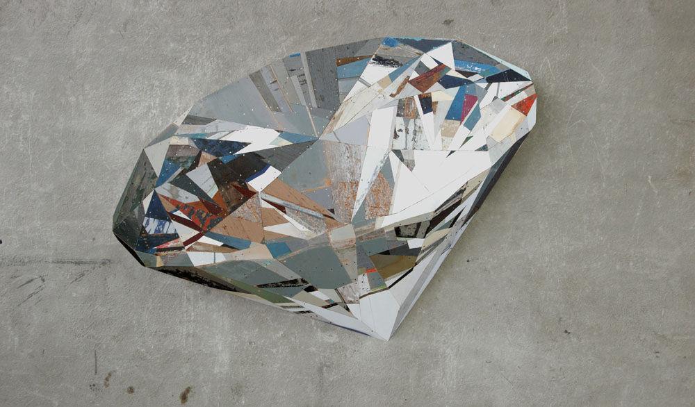 Ron van der Ende: Foreshortened Space » rocks