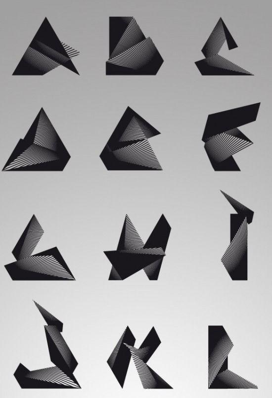 Trisec Typography | Fubiz™
