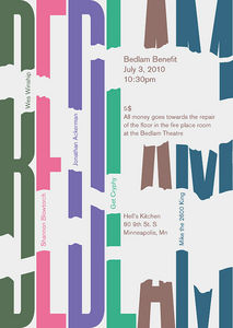 Bedlam Benefit Flyer  Flickr - Photo Sharing