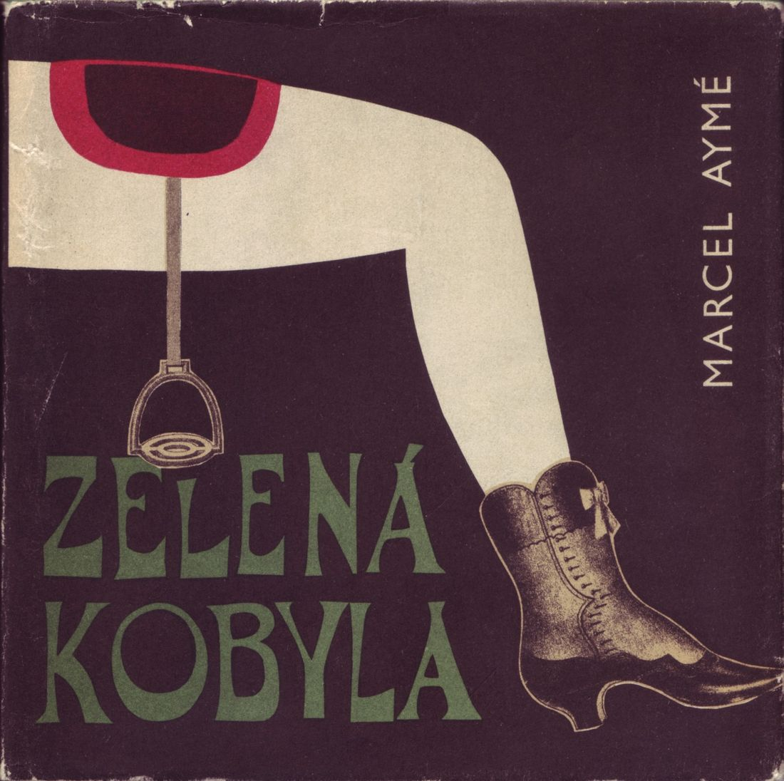 All available sizes | 01 Bohumil Stepan, illustrator, The Green Mare (Zelena Kobyla) by Marcel Ayme (Prague, 1966) | Flickr - Photo Sharing!