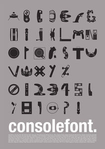 Console Font on the Behance Network