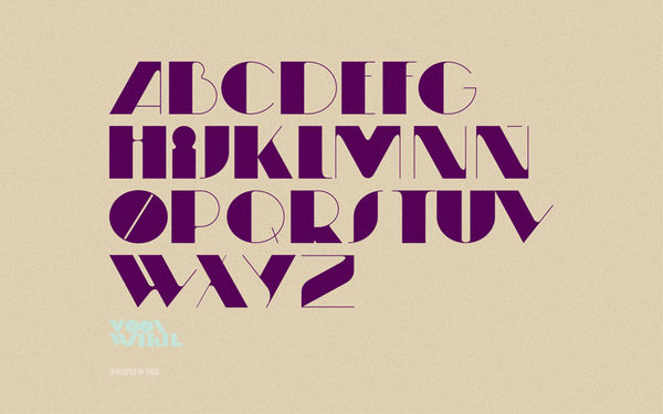 Moonwalker Type on the Behance Network