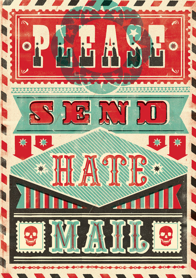 HATE MAIL : Telegramme Studio