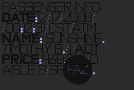 Fonts - Paz by Sudtipos - YouWorkForThem