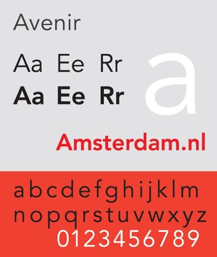 Avenir: Font of the Future | Viget Inspire