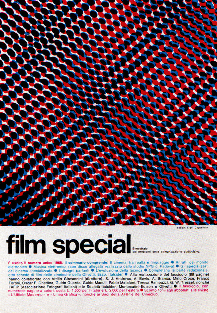 Flickr Photo Download: 1960s Advertising - Magazine Ad - Film special (Italy)