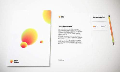 Mango Telecom on the Behance Network
